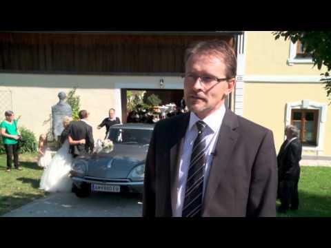 die 'Göttin', die DS23 Pallas von Citroën als Hochzeitsfahrzeug