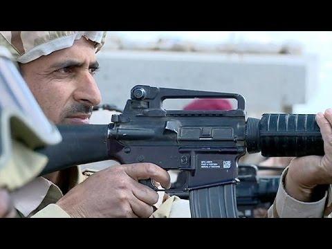 Ιράκ: Αποκλειστικό ρεπορτάζ του euronews στα πεδία της μάχης κατά του ΙΚΙΛ