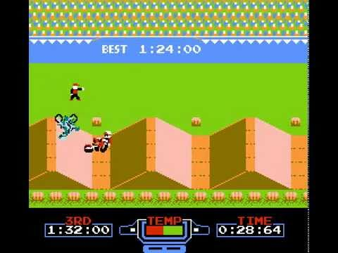 excitebike nes rom