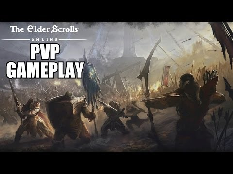 The Elder Scrolls Online PVP Gameplay – TESO Player VS Player PC Review With Commentary