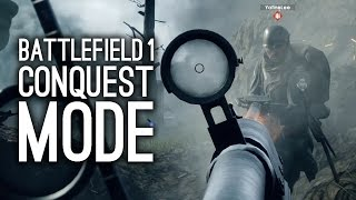 Battlefield 1 Gameplay - Let's Play Conquest Mode - BF1 Multiplayer Gameplay