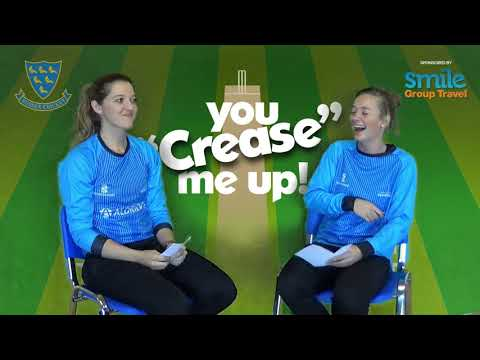 """You crease me up!"" with Sarah Taylor and Danni Wyatt"