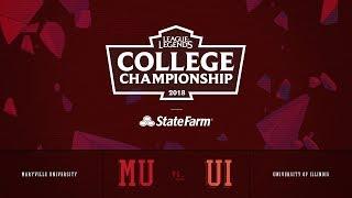 Video Illinois vs Maryville | QuarterFinals Game 1 | 2018 College Championship | UI vs MU MP3, 3GP, MP4, WEBM, AVI, FLV Agustus 2018