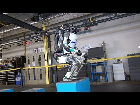 Atlas Robot Update Impressive Maneuverability