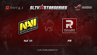 PR vs Na'Vi, game 1