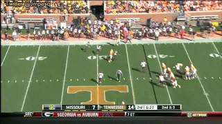 Justin Hunter vs Missouri (2012)