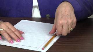 Video How to hold Pencil and Paper for Left handers MP3, 3GP, MP4, WEBM, AVI, FLV Juni 2018