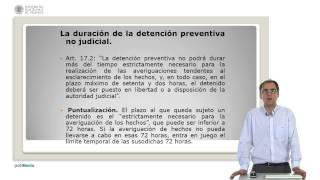 Los derechos del detenido en la Constitucion Espa?ola de 1978      UPV