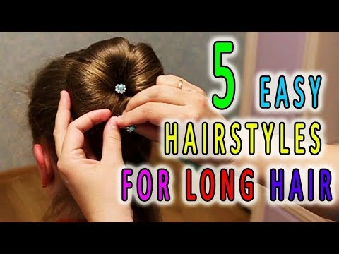 5 Easy Hairstyles for Long Hair