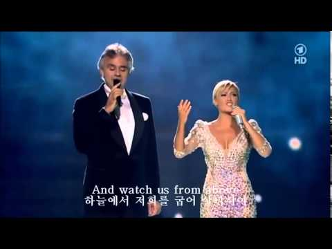The Prayer기도문 -  Andrea Bocelli & Helene Fischer