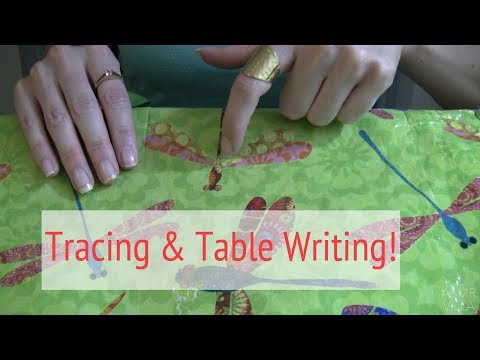 ASMR * Theme: TRACING * Table Writing * No Talking * ASMRVilla