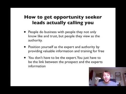 Opportunity Leads – How to get MLM Opportunity Leads Calling You