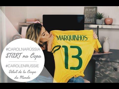 #CarolNaRússia START na Copa