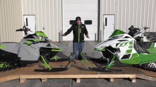 2. Country Cat - Weight Comparison Between 2018 & 2017 Arctic Cat M 8000 Sno Pro