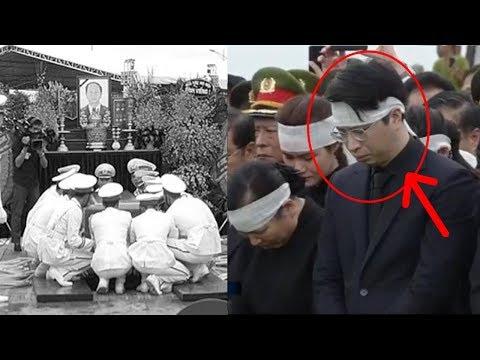 Con Trrai CTN Trần Đại Quang cúi mặt không dám nhìn giây phút tiễn cha - Thời lượng: 10:22.