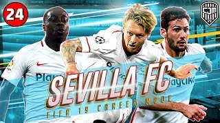 FIFA 19 Sevilla Career Mode: Drama Leg Dua Babak 16 Besar UEFA Europa League Lawan SL Benfica #24