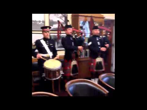 Scots Guard Surprises Congressman Tom Petri