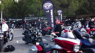 Opio France  city photo : 2012 Victory Motorcycle Launch Opio, France