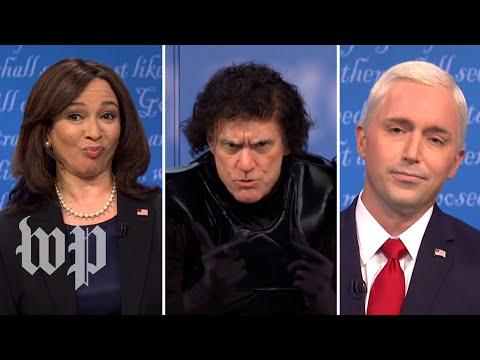 SNL Recap   Maya Rudolph, Jim Carrey return for fly-filled SNL vice presidential debate