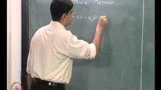 Mod-04 Lec-14 Non Linear Algebraic Equations Part 6