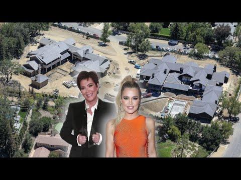 Kris Jenner Builds Mega-Mansion On Shared Lot With Daughter Khloe Kardashian