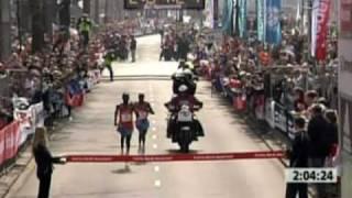Kibet wins 2009 Rotterdam Marathon from Universal Sports