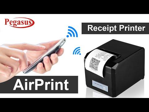 Pegasus PR8021 Thermal Receipt Printer Bluetooth