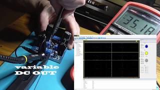 DIY LM337T Linear Adjustable Filter Step up Step down Kit 5-40V