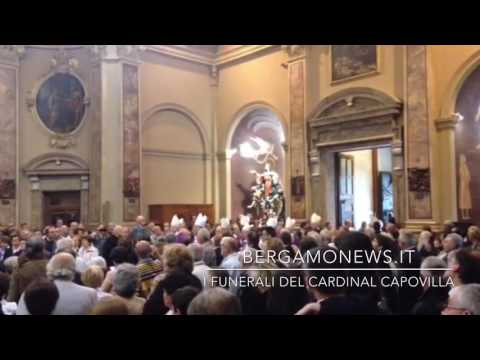 I funerali del cardinal Capovilla