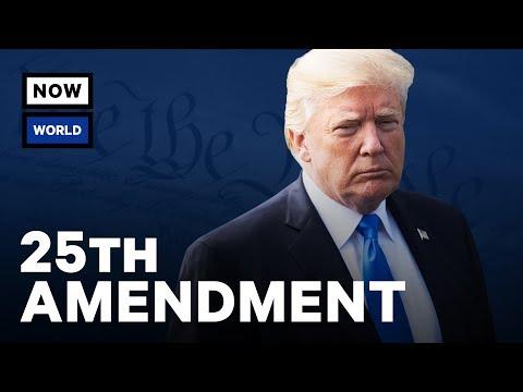 Can The 25th Amendment Really Remove Donald Trump?