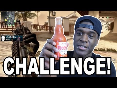 Black Ops 2 – HOT SAUCE CHALLENGE! (Call of Duty BO2)