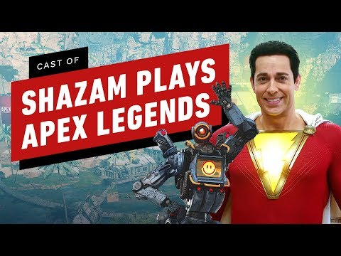 Zachary Levi & Cast of Shazam Play Apex Legends for the First Times - Thời lượng: 3 phút, 2 giây.