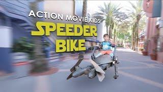 Speeder Bike Photo Op | Action Movie Kid | Star Wars | Walt Disney World