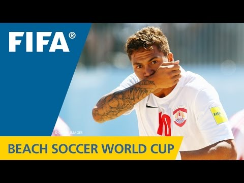 Beach Soccer World Cup BEST GOALS: Tearii LABASTE (Tahiti v. Paraguay)