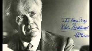 Download Lagu Wilhelm Backhaus plays Beethoven Sonata No. 30 in E major Op. 109 Mp3