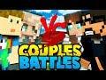 2 GIRLS TAKE ON THE WORLD?!   Minecraft Bed Wars 4v4