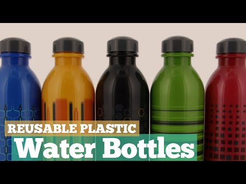 Reusable Plastic Water Bottles // 12 Reusable Plastic Water Bottles You've Got A See!