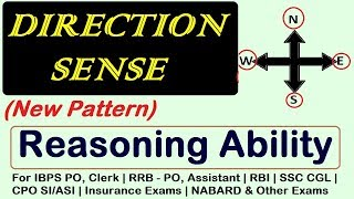 In this video we shall discuss about Direction Sense based on new  pattern . Most of the exams including Bank Examinations like IBPS - PO and Clerk , RAILWAYS,SSC, BANK PO, RRB PO, RBI CLERK, SSC MTS, LIC, RBI and other competitive exams consist of questions from this topic and many students facing difficulty while solving these questions. Here, We tried to help you by providing these daily videos. You will definitely find change in your speed and accuracy while solving these type of questions.**************************************************Subscribe Us :   https://www.youtube.com/channel/UCKQ5AV1FRAVRy381SVlsDqQ?sub_confirmation=1**************************************************Like & Follow Our Facebook Page: https://www.facebook.com/fuelupacademy/Follow us on Twitter: https://twitter.com/fuelupacademyFollow us on Instagram : https://www.instagram.com/fuelupacademy/*********************************************Contact : info@fuelupacademy.com,  fuelupacademy@gmail.com*********************************************Web : www.fuelupacademy.com