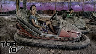 Video Top 10 Scary Abandoned Amusement Parks MP3, 3GP, MP4, WEBM, AVI, FLV Mei 2019