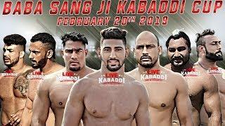 Video 🔴LIVE - Baba Sang Dhesian Ji Kabaddi Cup 2019 | LIVE KABADDI MP3, 3GP, MP4, WEBM, AVI, FLV Februari 2019