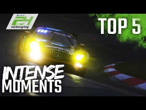 Top 5 Most INTENSE Moments | 24h-Race 2018 at the Nürburgring