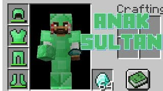 "Video ""EMERALD ARMOR!!! MENJADI ANAK SULTAN"" Minecraft Seru #41 MP3, 3GP, MP4, WEBM, AVI, FLV September 2018"