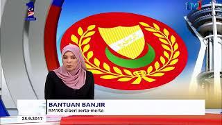 Video BANJIR DI KEDAH - BANTUAN AWAL RM100 DIBERI SERTA MERTA [25 SEPT 2017] MP3, 3GP, MP4, WEBM, AVI, FLV September 2018