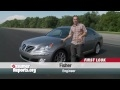 Hyundai Equus First Look from Consumer Reports