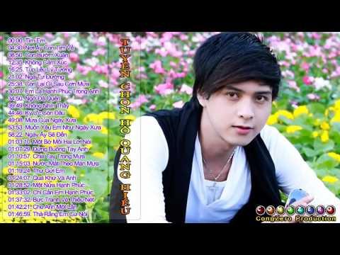 Tuyển chọn các ca khúc hay nhất của Hồ Quang Hiếu - Thời lượng: 1 giờ và 46 phút.