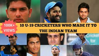 Video Top 10 Under 19 Cricketers who made it to the Indian Team | Under 19 India | Team India | Cricket MP3, 3GP, MP4, WEBM, AVI, FLV Oktober 2018