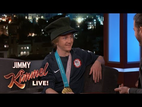 Youngest Snowboarding Champion Red Gerard on Winning Olympic Gold (видео)