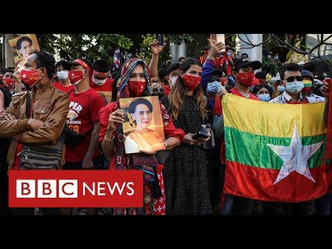 Military seize power in Myanmar detaining Aung San Suu Kyi - BBC News