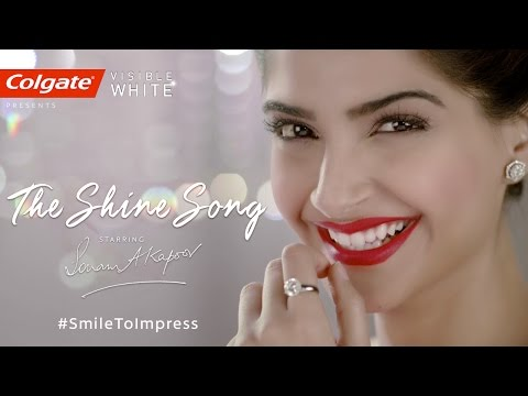 The Shine Song - Sonam Kapoor - Colgate Visible White