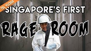 Video The Fragment Room - SINGAPORE'S FIRST RAGE ROOM! | TSL Vlogs MP3, 3GP, MP4, WEBM, AVI, FLV Oktober 2018